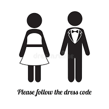 Image: Couple in evening dress icon