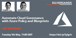 Image: Azure Governance Event promo 300 by 150px