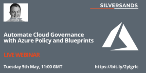 Image: Azure Governance Event promo Jamie Sayer 1200 by 600px