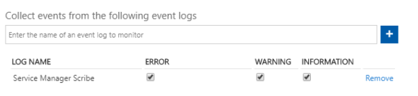Image: Azure log Analytics Event Log screen shot
