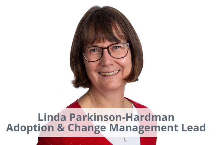 Image: Linda parkinson-Hardman, Adoption & Change Management Lead, Silversands