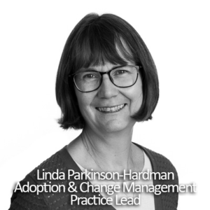 Image: Silversands Adoption & Change Management Practice Lead Linda Parkinson-Hardman