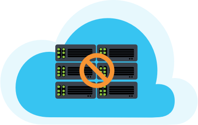 Image: Serverless computing cloud graphic