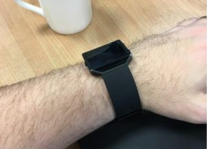 Image: Smart watch on user wrist