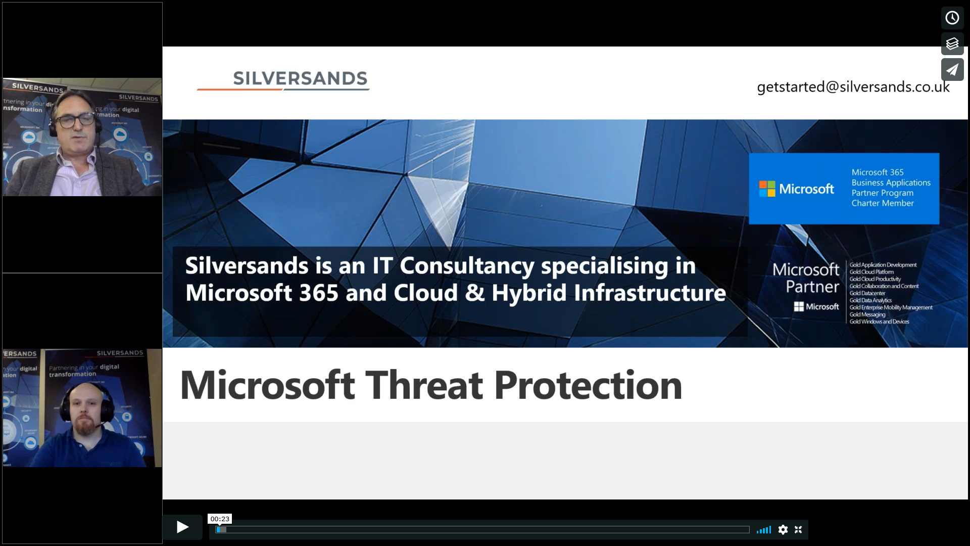 Webinar – Microsoft Threat Protection – What is it?