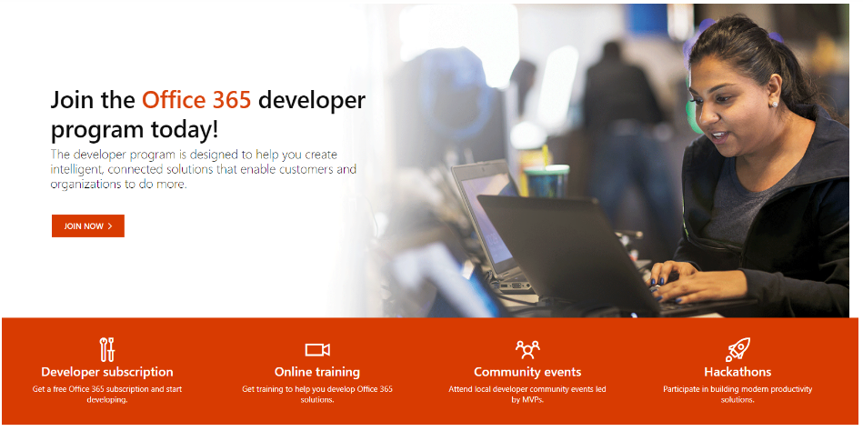 Image: Join the PowerApps developer program